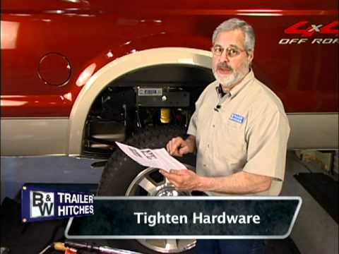 B&W Turnoverball Gooseneck Trailer Hitch Installation Demonstration- Model 1108