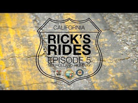 Rick's Rides Episode 5 | Mulholland Highway & Rock Store | Goldwing | WingStuff.com