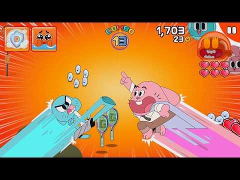 Mutant Fridge Mayhem Gumball Gameplay Part 2 - Takeout Terror