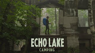 Echo Lake Camping iฑ The Catskills // New York // Hiking Overlook Trail into Indian Head Wilderness