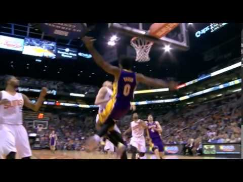 Nick Young punches Dragic and Len and gets ejected