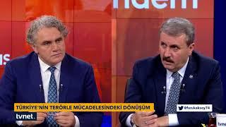 Tartışma - 25.10.2017 ( BBP Genel Başkanı Mustafa Destici)