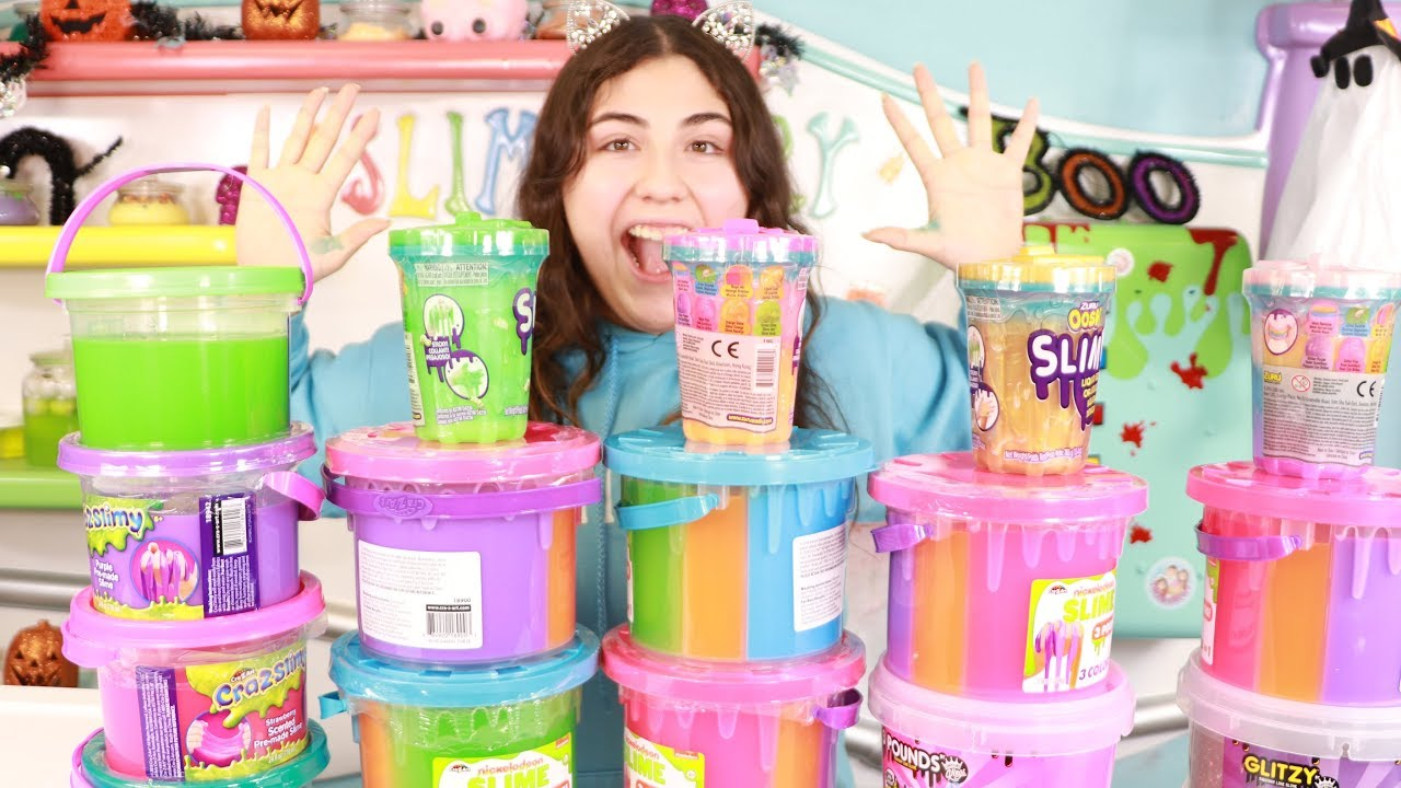 mixing-all-my-giant-buckets-of-store-bought-slime-slimeatory-478