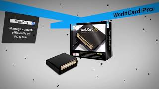 WorldCard Pro, multi language business card scanner