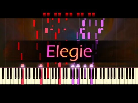 Elegie, Op. 3, No. 1 // RACHMANINOFF