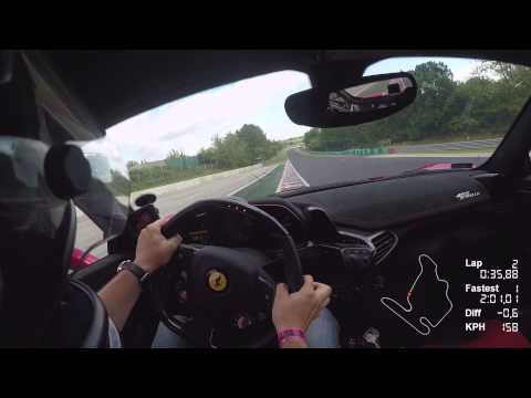 Hungaroring Hot Lap Record | Ferrari 458 Speciale | 2:00.554