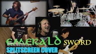 emerald sword rhapsody of fire full band splitscreen cover
