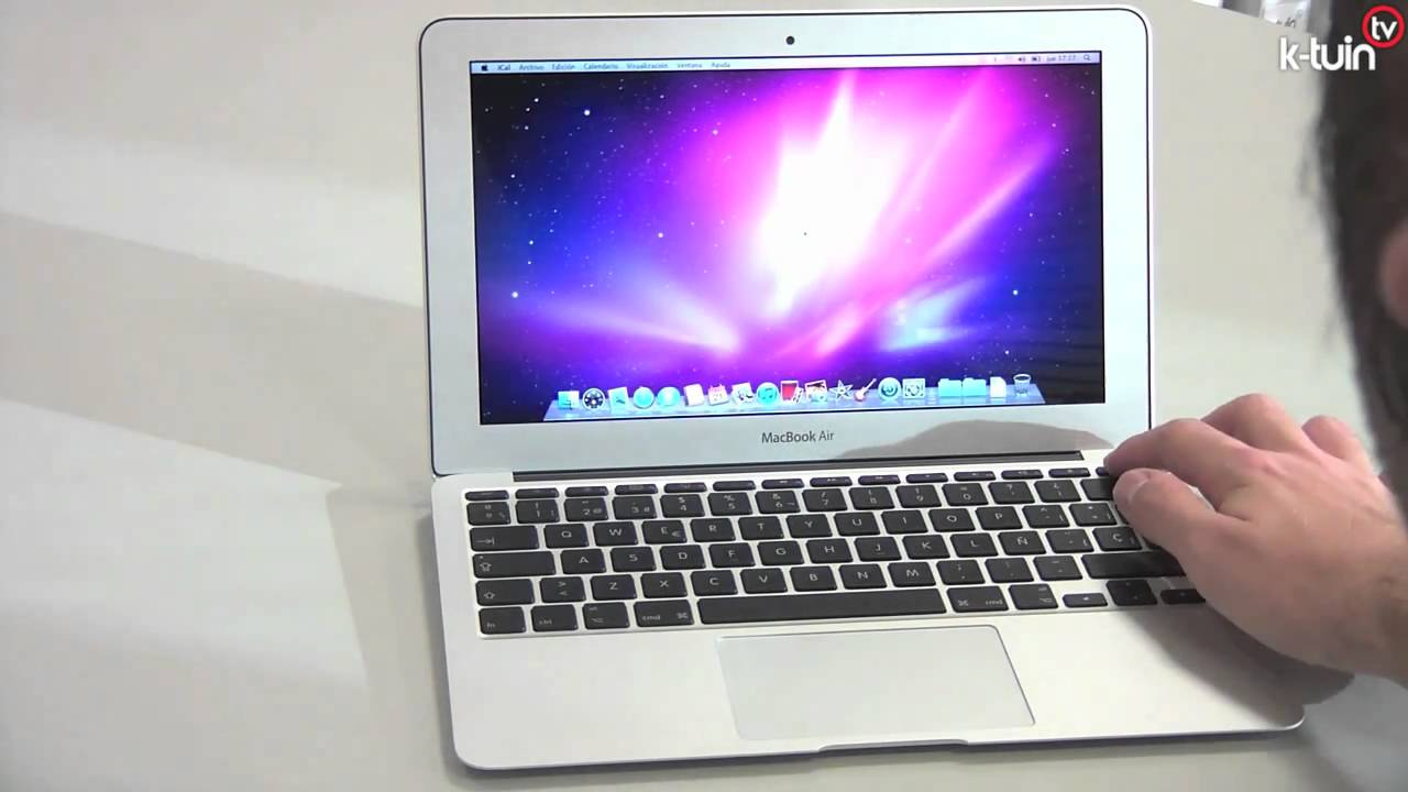 Nuevo Macbook Air de Apple 20 de octubre de 2010 - YouTube