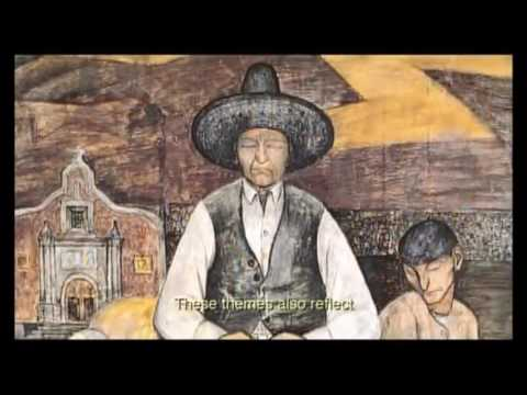 the storm that swept mexico (edited) -  artistic movement (muralism)