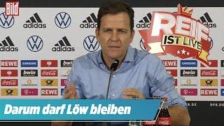 ⚽️  Bierhoff spricht: Darum darf Jogi Löw bleiben   Reif ist Live Spezial
