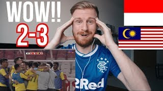 INDONESIA v MALAYSIA (2-3) KUALIFIKASI PIALA DUNIA 2022 (WORLD CUP 2022) // REACTION