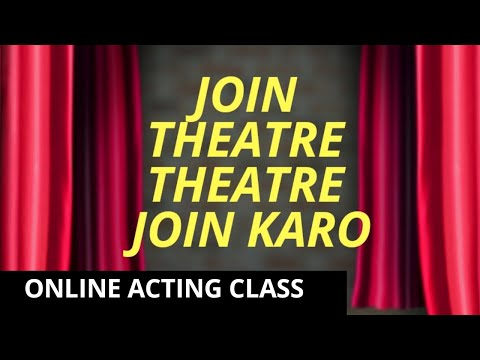 BOLLYWOOD &  ACTING - join Theatre