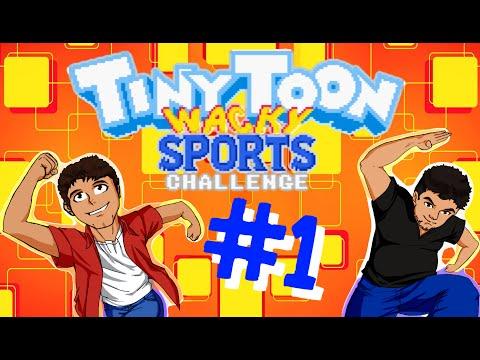 Tiny Toon Wacky Sports: Ese microfono está raro (Ep #1) - 16Bit Party