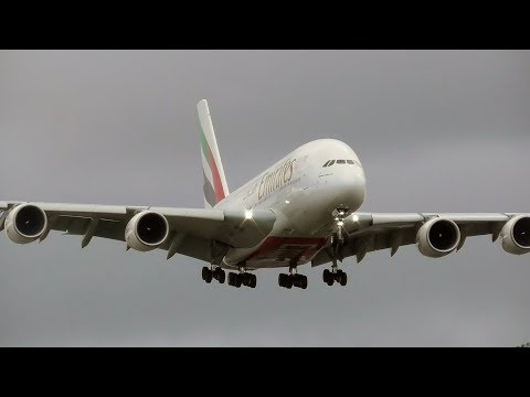 Plane Spotting at Manchester Airport | 17th January 2018