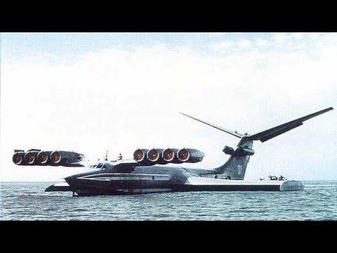 Russian Top Aircraft Lun Class Ekranoplan   Military