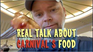 Carnival Cruise Sea Day Buffet - Amazing!