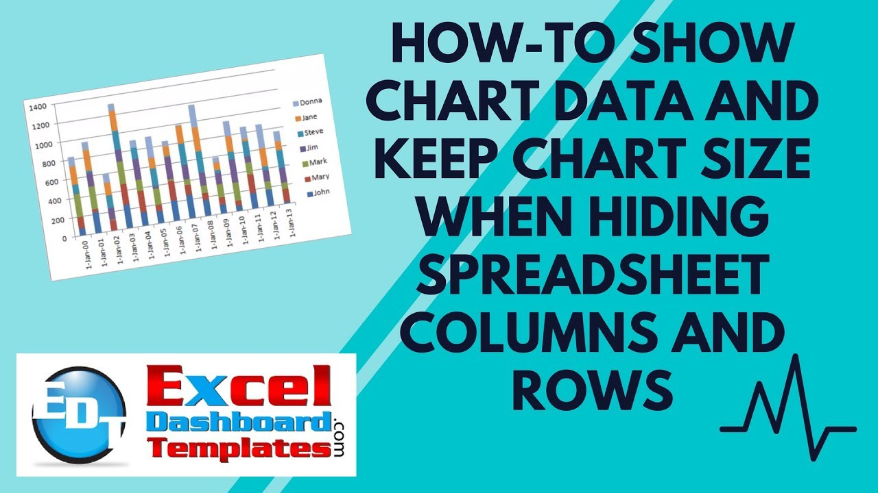 How to show excel chart data and keep chart size when hiding how to show excel chart data and keep chart size when hiding spreadsheet columns and rows ccuart Choice Image