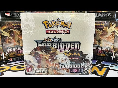 Pokemon Forbidden Light Booster Box Opening!
