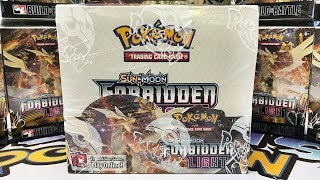 Pokemon Forbidden Light Booster Box Opening!