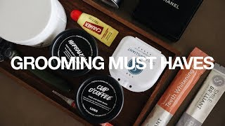 Top Ten Must Have Grooming Products/Essentials