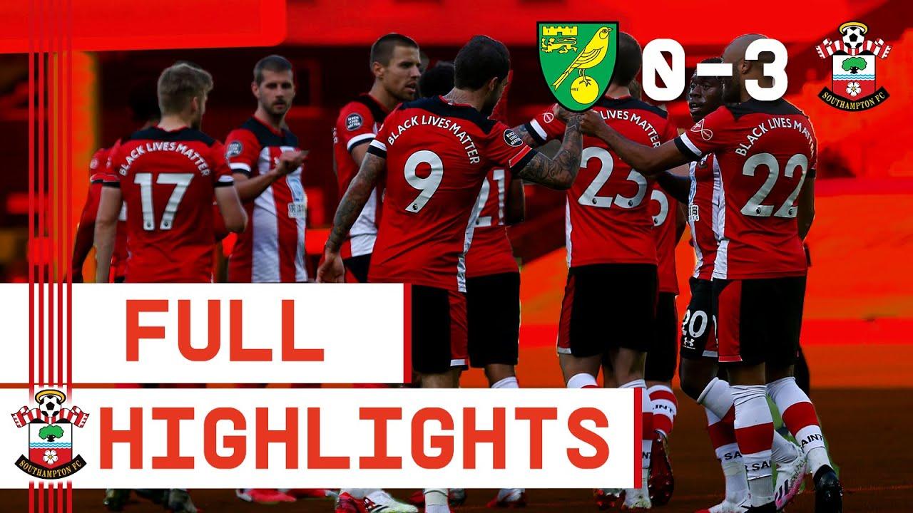 HIGHLIGHTS: Norwich City 0-3 Southampton   Premier League
