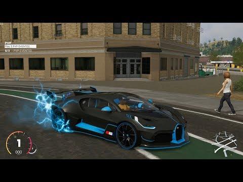 The Crew 2 Bugatti Divo Customization Gameplay Hotshots Update