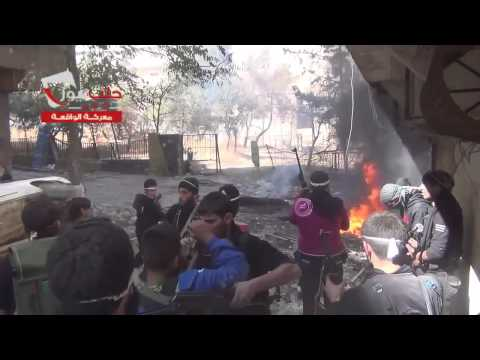 Syria War - Insane Heavy Intense Urban Firefight Aleppo Syria