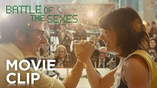 "BATTLE OF THE SEXES | ""Press Conference"" Clip 