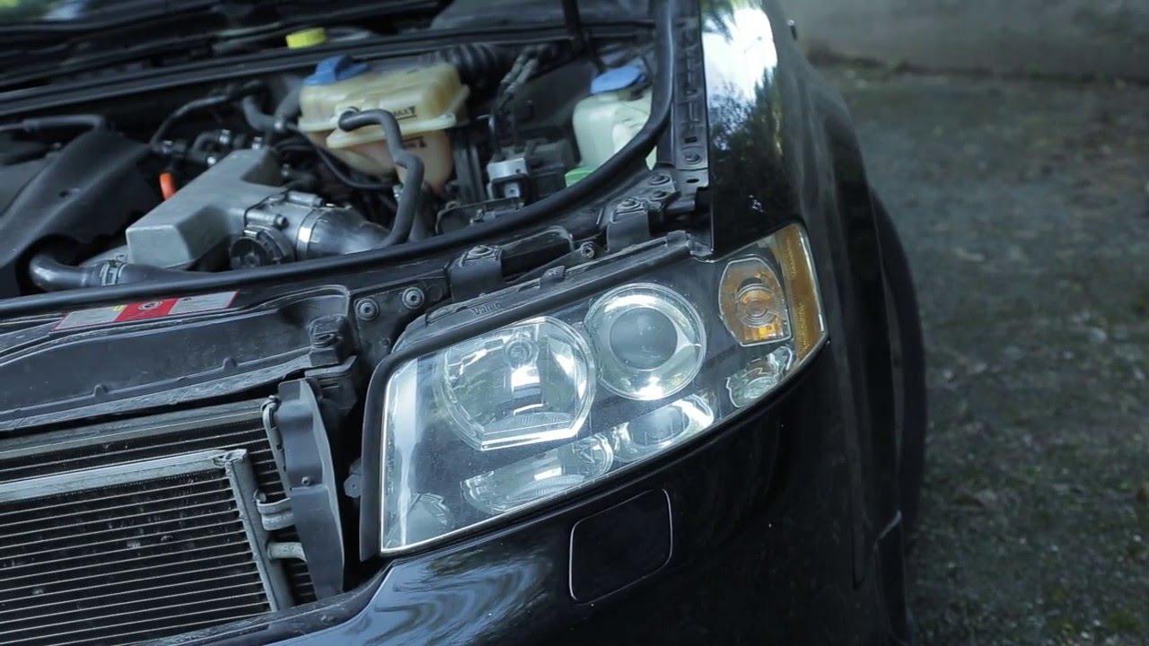 Audi A4 Headlight Removal Diy