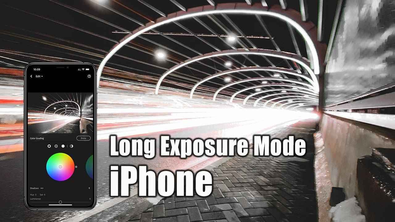 Tips Foto Long Exposure Mode di iPhone