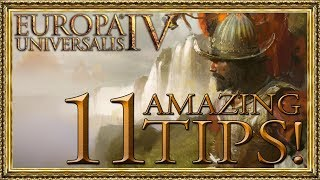 11 AMAZING Tips For EU4! (I Wish I'd Known When I Started)