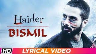 Bismil   Lyrical   Sukhwinder Singh   Haider   Vishal Bhardwaj   Times Music