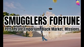 SMUGGLERS FORTUNE GUIDE (Pets, Black Market, Pirate Emporium, Missions) | Sea of Thieves
