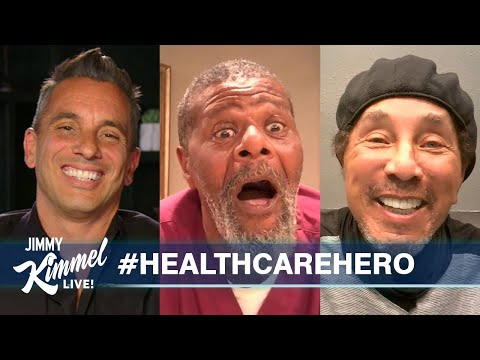 Sebastian Maniscalco & Smokey Robinson Surprise Health Care Hero - Supported by Green Goo