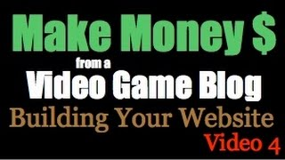 Building Your Video Game Blog - Video 4(Build your free site here: http://bit.ly/1WPMaiw or sign up for your free account at http://bit.ly/2aRqmlr In this video I'll just go over some domain and topic ideas ..., 2016-05-14T01:49:21.000Z)