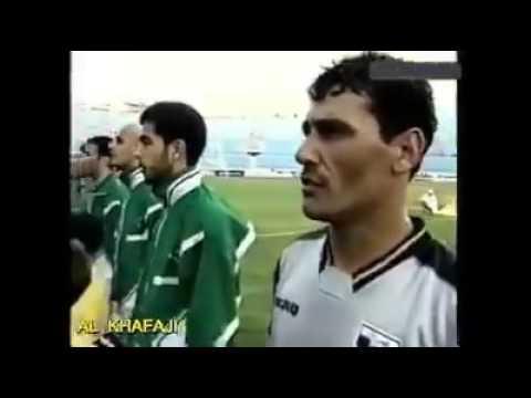 هدف عباس عبيد آخر هدف عراقي في مرمى اليابان عمره ( 16 ) سنة  !!؟ كاس آسيا 2000 - لبنان