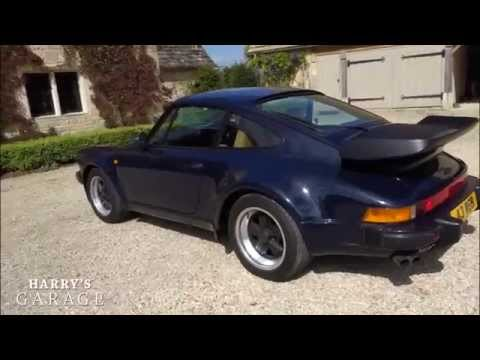 Porsche 911 turbo drive and review. The legendary '80s Porsche 930 poster
