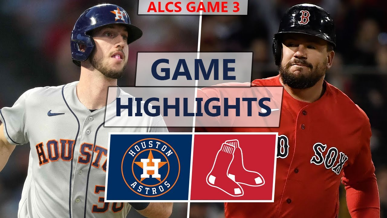Download Houston Astros vs. Boston Red Sox Highlights | ALCS Game 3 (2021)