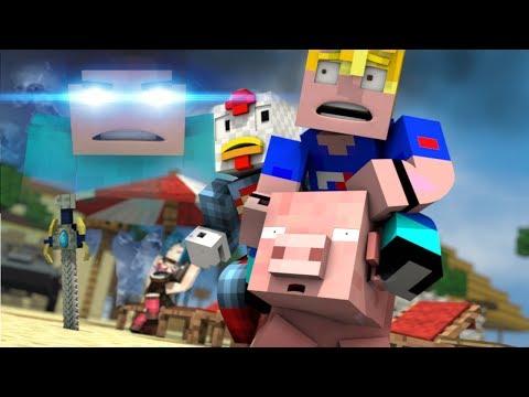 Minecraft Music Parody Teaser - HEROBRINE WHERE ARE YOU!? - FrediSaalAnimations