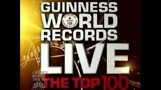 Top 100 Guinness World Records 2014 HD
