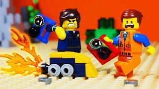 LEGO MOVIE 2 TRAIN CAR ARCADE FAIL TOY ANIMATION