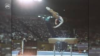 Mary Lou Retton Makes History | Gold Medal Moments Presented By HERSHEY'S