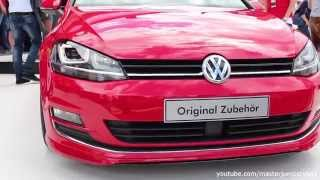 VW Golf 7 2.0 TDI 4Motion with accessories