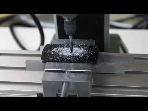 Portal Dog Tag Engraving DIY CNC Mill