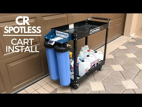 CR Spotless Water De-Ionizer Custom Cart Install