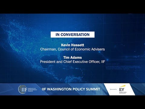 IN CONVERSATION - Kevin Hassett