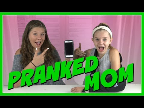 SONG LYRICS PRANK ON MOM || FUNNY VIDEO || Taylor and Vanessa