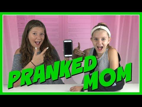 SONG LYRICS PRANK ON MOM || FUNNY VIDEO || Taylor and Vanessa