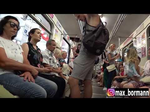Дрочил в метро видео могу