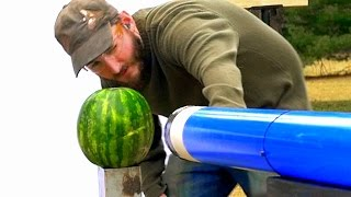 How to Make a Large Bore Vacuum Cannon